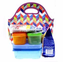 2017 Nouveaux produits Commerce de gros sac de toile Préparation des repas Déjeuner