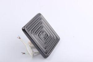Rilievo di ceramica infrarosso del riscaldatore di ceramica infrarosso nero