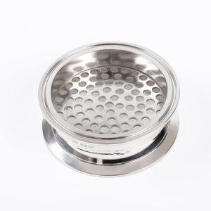 Filtro a piastra inanellato in-linea sanitario di Triclamp dell'acciaio inossidabile