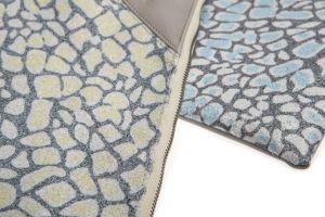 2018 Nouvelle conception PU Promotion sac cosmétique avec fermeture à glissière