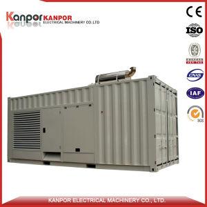 Cummins 1000kw al tipo diesel del contenitore 1250kw del generatore di potere di elettricità