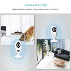 720p WiFiの夜間視界の赤ん坊の/Elder/ペットまたは乳母のモニタのための無線ビデオIPの機密保護の監視カメラ