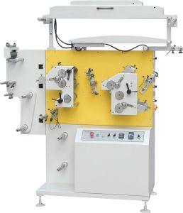 Многоцветные Flexo атласной лентой машины для печати этикетки хлопка, нейлоновые ленты из тафты и одежды за наклейки Jr1521