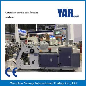 Caja de papel automático de fabricación china máquina de formación, el cuadro de máquina de formación de hamburguesas, Box Lunch Box Takeout máquina de formación, la máquina de formación