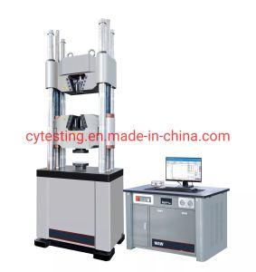 Serie 100-1000Waw kn Computer Control Servo pruebas electro-hidráulico Universal instrumento/equipo/máquina