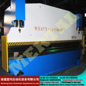 Wc67y Typ CNC-hydraulische Stahlplatte verbiegende u. faltende Maschine
