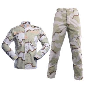 Les uniformes de sécurité de haute qualité utilisé Rip-Stop uniforme militaire tricolore désert Vêtements militaires