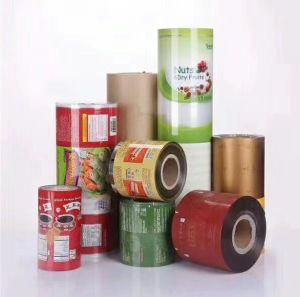 Emballage Alimentaire imprimé personnalisé sac en plastique laminé Rouleaux de film d'emballage
