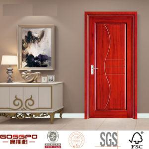 Portello interno di legno della sala del legname residenziale del MDF (GSP8-015)