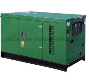 Buena insonorización conjunto de la generación de Motor Diesel Isuzu