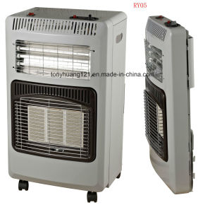 2 riscaldatori Gas-Elettrici mobili in 1