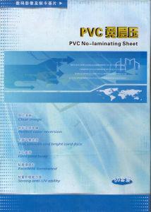 熱い販売200*300*0.76mmのサイズの銀即刻PVCシート