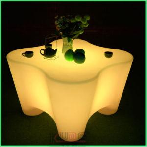Rougeoyant luxueux mobilier lumineux à LED de plein air
