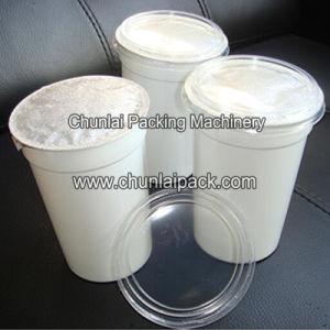 Bebidas carbonatadas de llenado automático de la Copa de la máquina de sellado