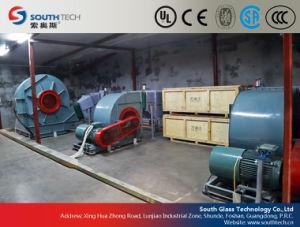 Oven van de Rol van het Vlakke Glas van Southtech de Ononderbroken Ceramische (LPG)