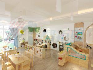 Los niños de guardería de muebles de madera, Aula de muebles, Muebles de jardín de infantes y preescolar, el libro el caso de muebles, guardería de muebles para bebés