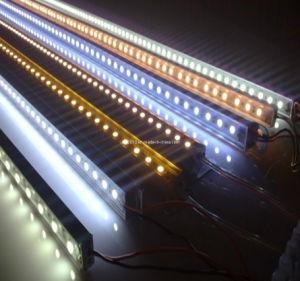72LED/M 5050 SMD LED 12V régua rígida