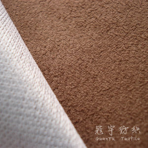 Home Produtos Têxteis Suede Sofá Tecido de poliéster
