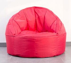 Ronda Back Estilo Bean Bag Chair Las Medidas D70 X H70cm