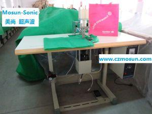 machine à souder par ultrasons pour la fixation de poignée Non-Woven sac