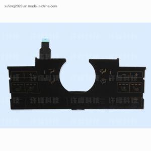 Custom de silicona resistente al agua el botón LED Interruptor de membrana