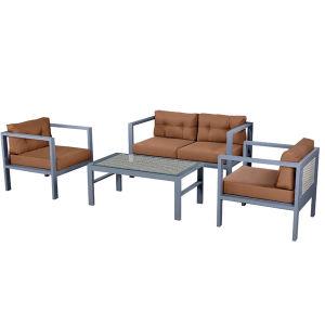 Mais Populares de mobiliário de exterior Sofá Individual / Duplo