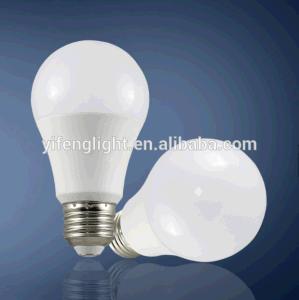 Comercio al por mayor 7W Lámpara 9W E14 E17 A60 Bombilla LED LUZ