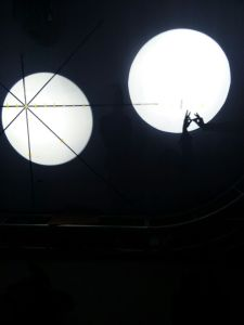de Afstand van 2560m volgt werpt de Lichte LEIDENE Verlichting van het Stadium