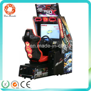 Heißer Verkaufs-verrückte Geschwindigkeits-Auto-Laufenspiel-Maschine für Verkauf