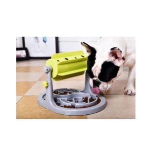 Excelente Material novo estilo de cão de estimação lento tigelas de comida do Alimentador