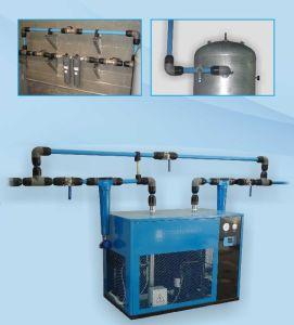 알루미늄 파란 압축공기 관