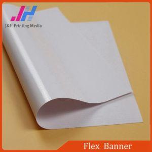 Fuerte adhesión recubiertos de materiales de impresión impresión de pancartas de PVC