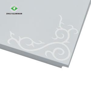 Hot Sale ignifuge et insonorisées 600*600 mm en aluminium plafond en métal