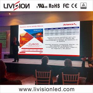 Alta Taxa de Atualização de Evento no interior da parede de vídeo LED P3.9/4,8 levou a exibição de vídeo sobre venda