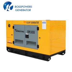 Weifang 침묵하는 발전기 디젤 엔진 50Hz 3 단계 100kVA Genset
