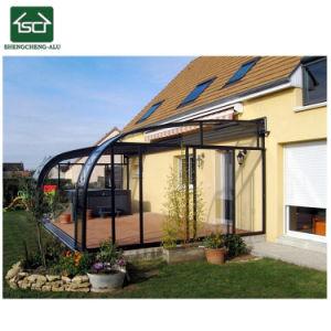ポリカーボネートの屋根が付いているロマンチックな家のアルミニウムSunroom