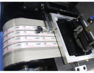Katoenen Banden/Machine van de Druk van het Lint van het Sleutelkoord Automatische 2+1 Kleuren