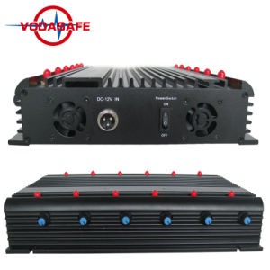 Emittente di disturbo di raffreddamento del telefono mobile/WiFi/GPS, nuova emittente di disturbo con il caricatore dell'automobile, emittente di disturbo del segnale del telefono, emittente di disturbo di WiFi GPS Lojack dell'emittente di disturbo 4G di GSM CDMA 3G 4G WiFi