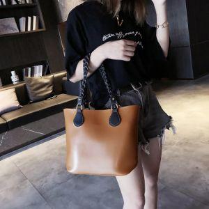 2019 Mesdames Trendy Designer Sacs à main sac fourre-tout simple Shopping (No. 30269)