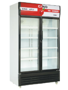 Réfrigérateur armoire d'affichage de la restauration de l'équipement
