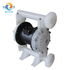 Resíduos de fluidos industriais PP/Bombas de diafragma duplo de Ar da Bomba de tambor pneumática para a indústria química