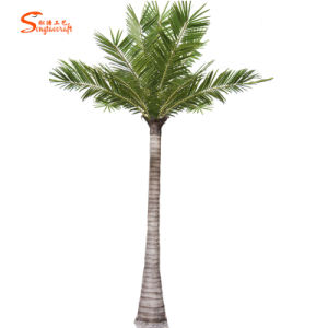 Landscapingのための大きいOutdoor Artificial Fiberglass Coconut Trees