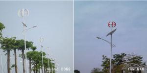Hot Sale 300W lanterne rouge Moulin à vent de l'axe vertical pour lampe de la rue