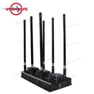 Uav de Stoorzender die van de Stoorzender Allerlei Draadloze Apparaten, zoals Mobiele Telefoons, GPS van de Walkie-talkie Drijver, Lojack, wi-Fi/Bluetooth blokkeren