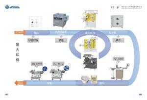 Superfast 초음파 폴리에스테 공단 레이블 리본 절단기 (JC-3080B 모형)