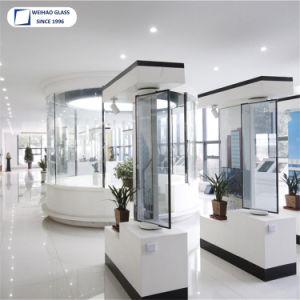 Le verre trempé à double paroi pour la construction de la façade de verre creux