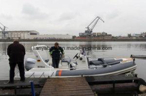 Liya 6.2m de Opblaasbare Verkoop Europa van Vissersboten