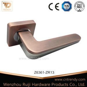 Además la venta de aleación de zinc Europeo empuñadura de puerta Square Rose (Z6361-ZR23)