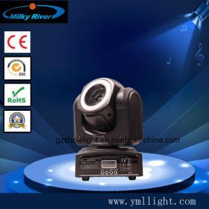 indicatore luminoso capo mobile di 60W LED con l'indicatore luminoso del cerchio della striscia del LED