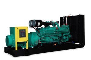 パーキンズエンジン900kVAの無声ディーゼル発電機を使って